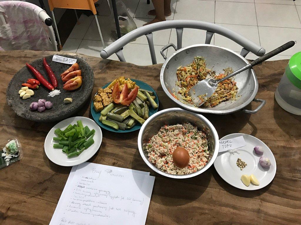 Maria Cooking Class Bali