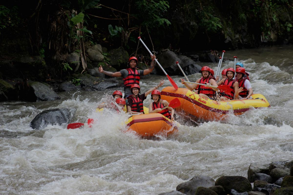 Bali Rafting Bahama Rafting Trip At Ayung River 70 Off